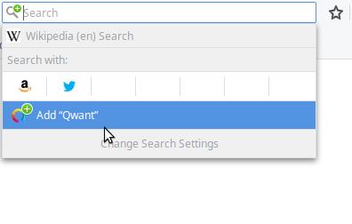 Firefox Recherche